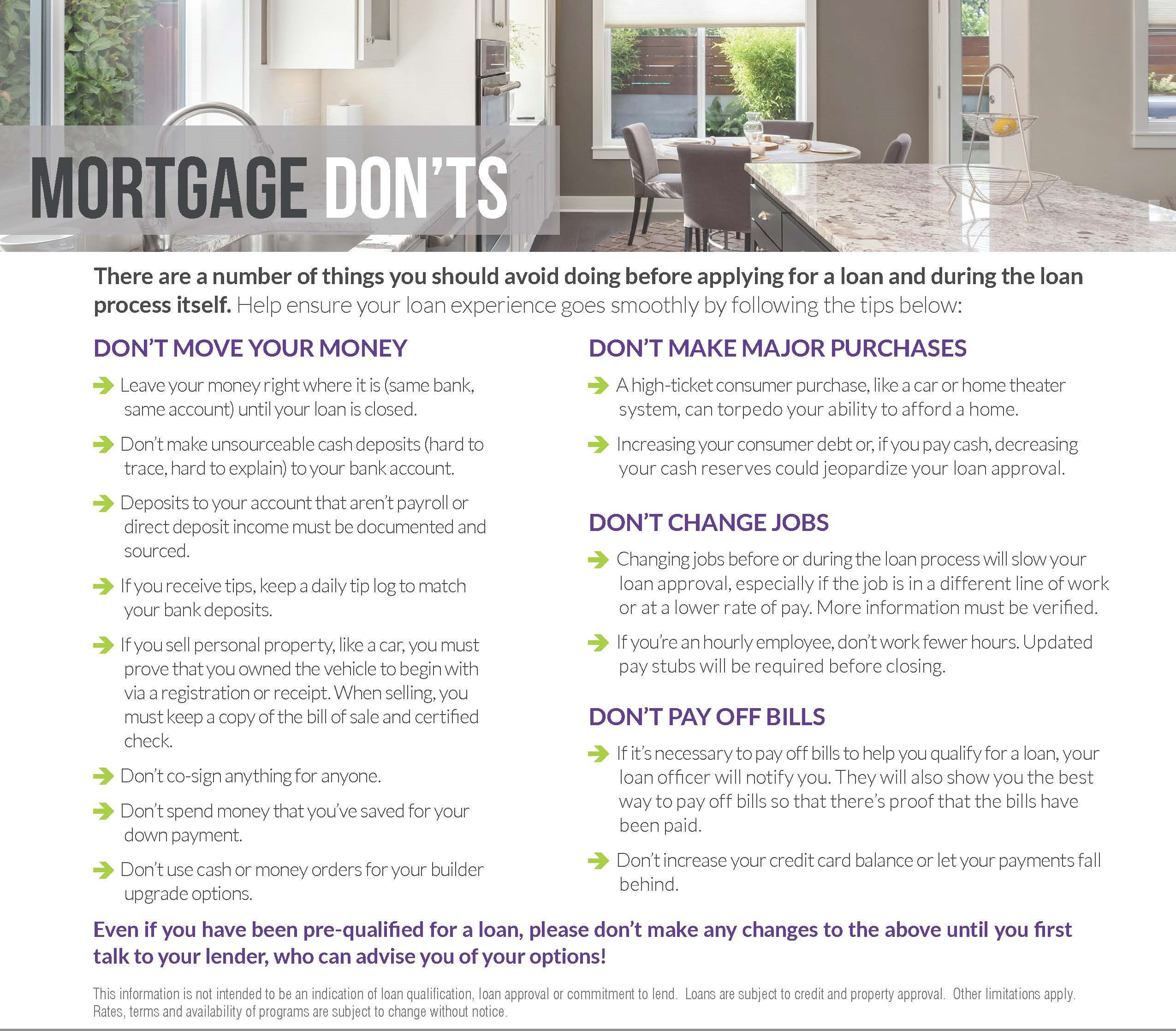 What to do before you purchase a home